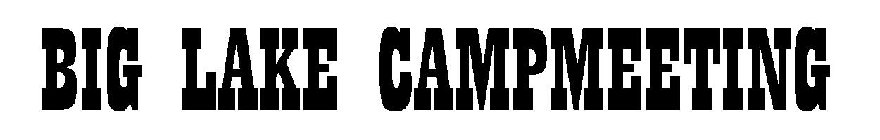 Big Lake Campmeeting Logo